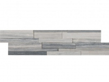 Alaska Gray 3D Honed Ledger Panel LPNLMALAGRY624-3DH