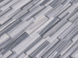Alaska Gray 3D Honed Stacked Stone Ledger Panel LPNLMALAGRY624-3DH