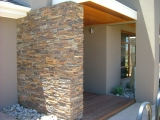 California Gold Stacked Stone Panels side wall veneer siding Tracy
