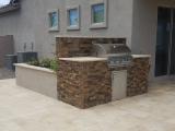 California gold outdoor barbecue ledger panel san jose