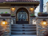 Canyon Creek MSI Stacked Stone Ledger Veneer Panels Exterior Walls and Posts Atherton