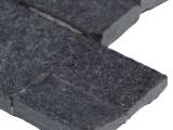 Coal Canyon Quartzite 6x24 Interlocking Panel Split Face Ledger Panel LPNLQCOACAN624