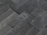 MS Internatioal Premium Black Slate Ledger Stone Panel LPNLMGLAGRY624
