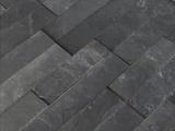 MS Internatioal Premium Black Slate Ledger Stone Panel LPNLMGLAGRY624