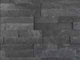 MSI Premium Black Slate 6x24 Ledger Stone Panel LPNLMGLAGRY624