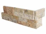 Tuscany Scabas Stacked Stone Ledger Corner LPNLTSCA618COR