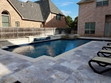 Silver travertine pavers for patio outdoor natural stone Carmel