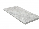 12x24 silver grey travertine bullnose pool coping LCOPTSIL1212HUF3