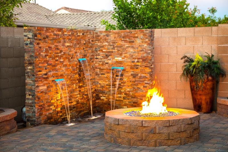 California Gold Stone Ledger stone veneer panels for exterior San Jose
