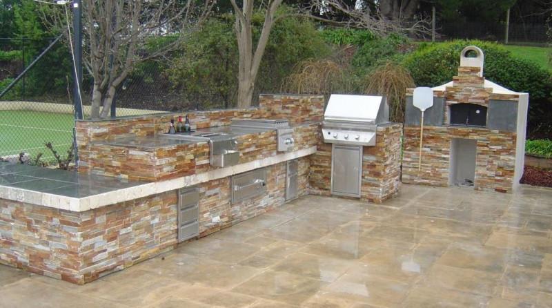 Golden White Stacked Stone Ledger Veneer Panels San Jose