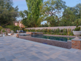 Canyon creek stacked stone retaining wall tile San Jose