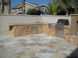 Golden White Splitface Ledger Stacked Stone San Ramon