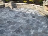 Atlantic Blue marble outdoor stone pavers cupertino