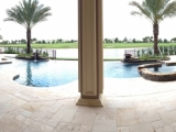 Ivory Travertine Pavers French Pattern