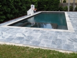 King BlueStone Marble Pavers French Pattern