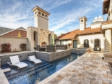 Scabos Travertine Pavers Tumbled French (Versailles) Pattern