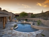 Scabos Travertine Pavers Tumbled Versailles Pattern