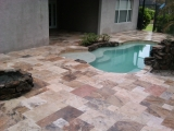 Scabos travertine pavers versailles pattern patio stone pavers