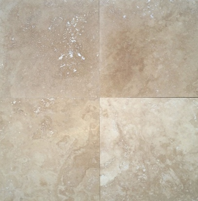 Medium Classic Honed Filled Travertine Tile