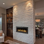 Arctic White Ledger Stone Veneer Panel