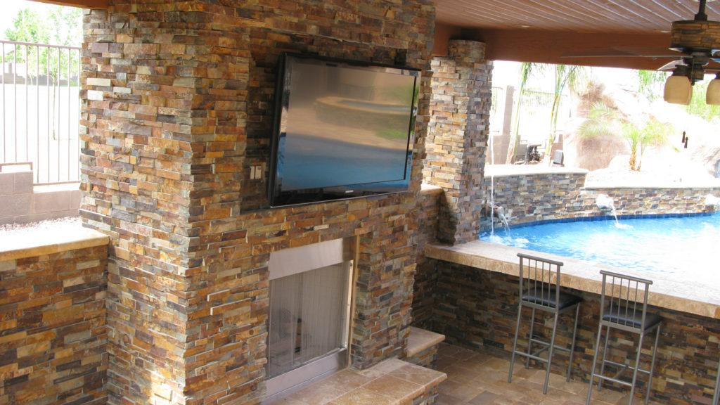 Ledger Stone Veneer : Stacked stone ledger panel veneers in san francisco bay area