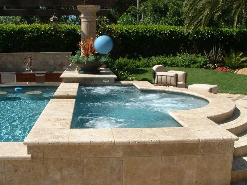Walnut Travertine Pool Coping Natural Stone Us