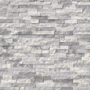 Alaska Gray Marble panels