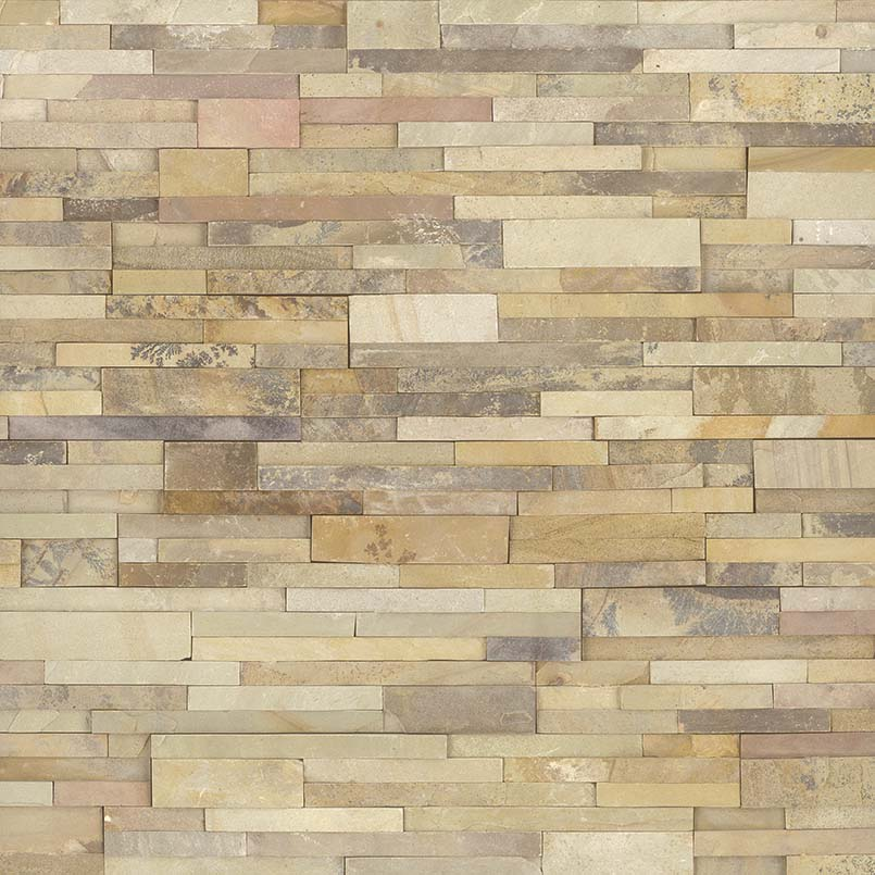 Sedona Fossil Stacked Stone Panels