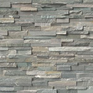Sierra Blue Stacked Stone Ledger Panels