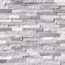 Alaska Gray Splitface Stacked Stone Ledger
