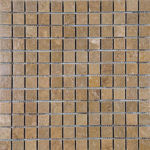 "1""x1"" Noce Travertine Mosaic"