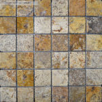 "2""x2"" Scabos Travertine Mosaic"