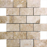 "2""x4"" Cappuccino Marble Mosaic"