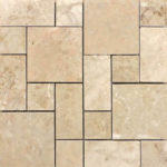 Cappuccino Marble Polished M. Pattern Marble Mosaic